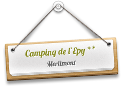 Camping de l'Epy � Merlimont dans la cote d'Opale, Pas de Calais 62